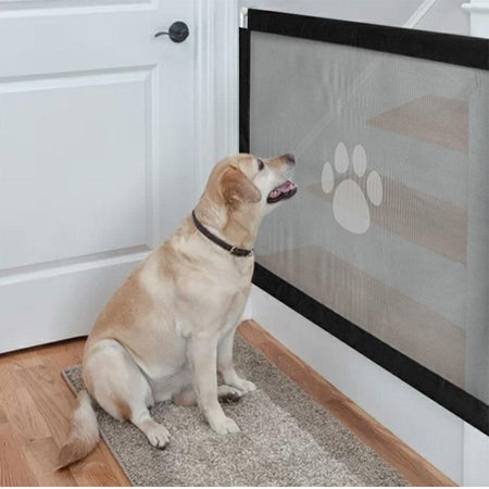 Portable Kids & Pets Safety Door Guard (50% Off) - 5econds.co