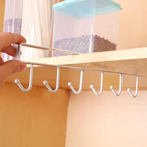 Hook™ Cabinet Hook Mug Holder [2020 Upgraded] - 5econds.co