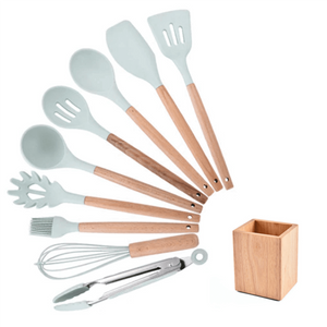 Premium Silicone Kitchen Cooking Utensils [NEW ARRIVAL] - 5econds.co