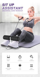 ABSLEAN™ - Abs & Core Trainer - Sit Up Bars Stand Abdominal Core Assistant Muscle Training Ab Rollers Fitness Weight Loss - 5econds.co