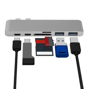 MULTIPORT USB-C All in One HUB - 5econds.co