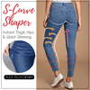 Pro-Shape Perfect Fit Jeans Leggings - Women Thin Leggings with Pocket High Waist Slim Fit Denim Pants Trousers - 5econds.co