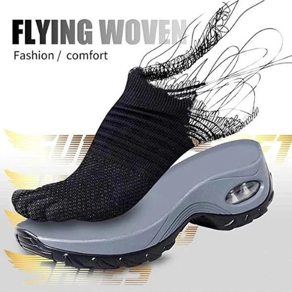 Women's Breathable Air Cushion Walking Running Shoes, Multi-Color, 2020 Sneaker