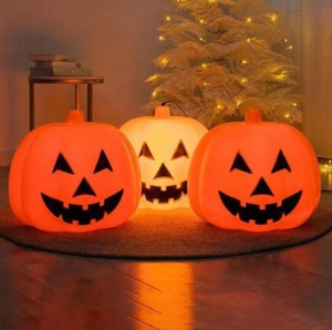 (Last Day Promotion) Halloween Talking Animated Pumpkin with Built-In Projector & Speaker