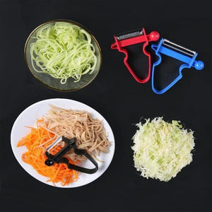The Original Magic Slicer Trio (3 Pieces) cabbage shredder peeler kitchen tool - 5econds.co