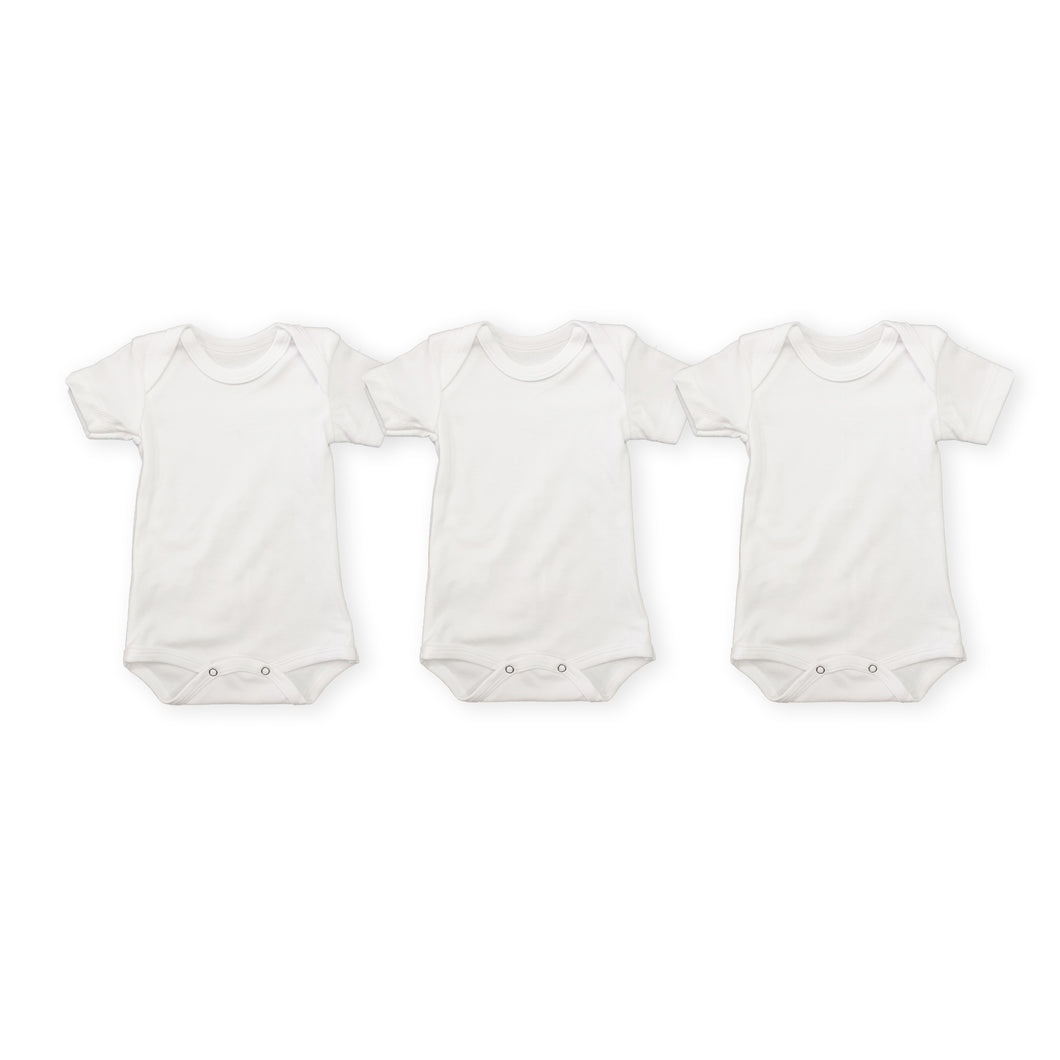 Short-sleeve 3 Pack Cotton Bodyvest