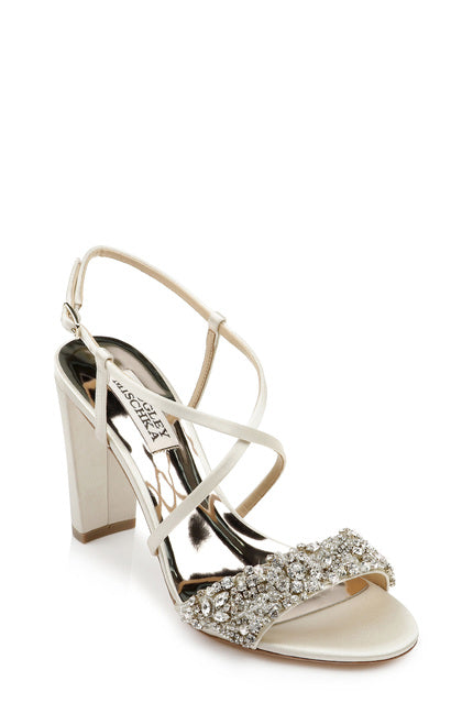 Carolyn Strappy Embellished Evening Shoe