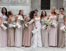Load image into Gallery viewer, Custom Bridal Party Clutches