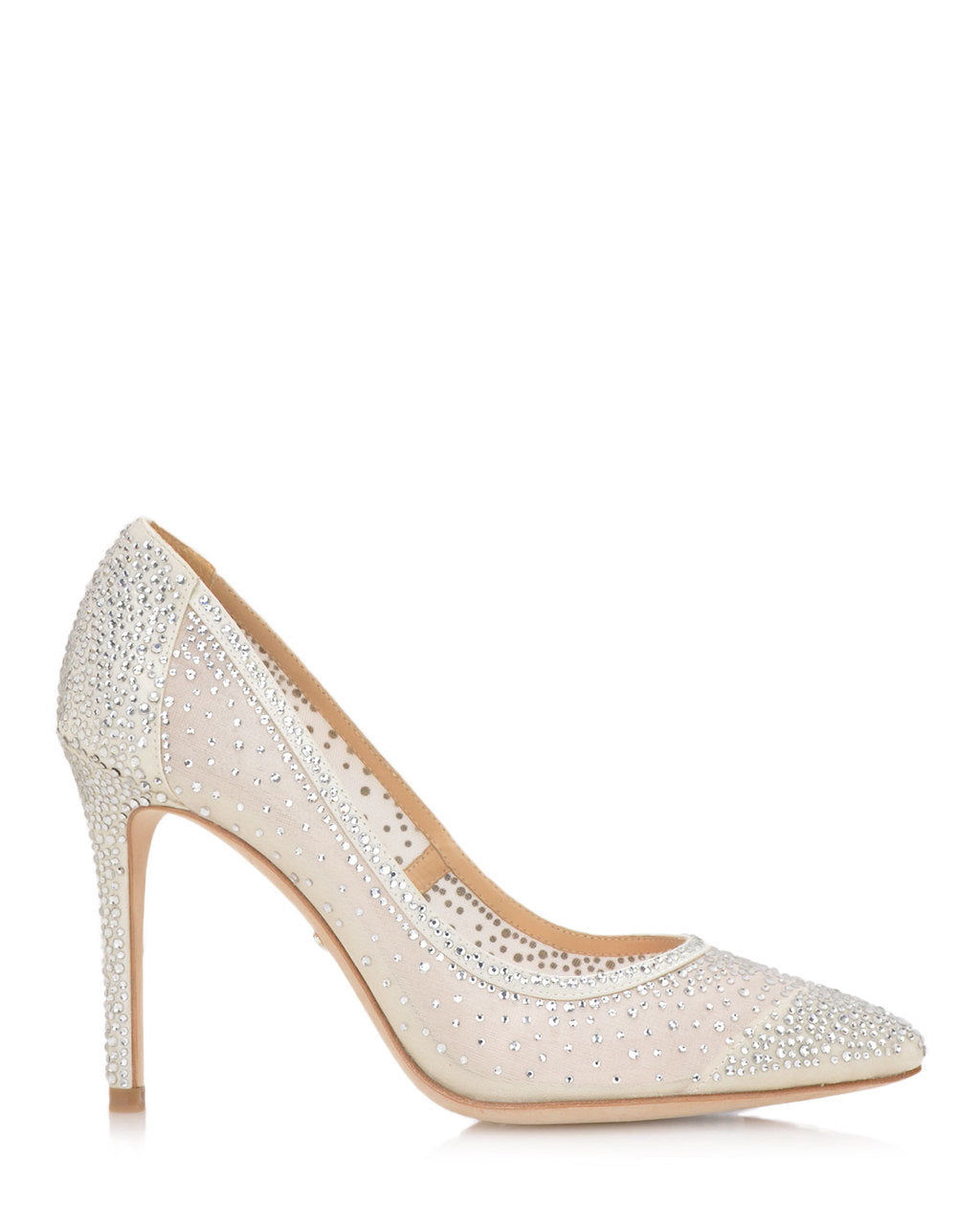 Weslee Crystal Embellished Evening Shoe