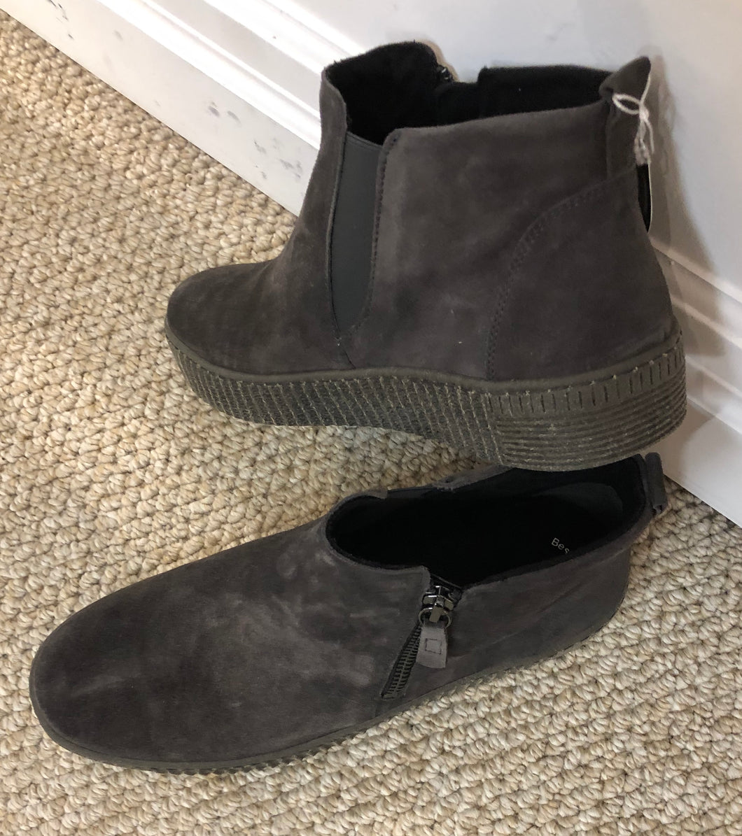Gabor Grey Suede Boot