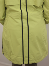 Load image into Gallery viewer, Junge Striped Green Rain Jacket
