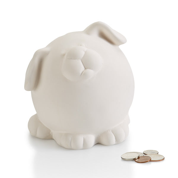 Pudgy Party Pet Dog Bank
