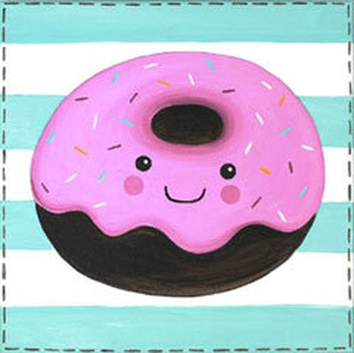 Delicious Donut Kids Canvas