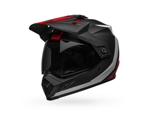 Bell MX-9 Adventure MIPS Switchback - Black/Red