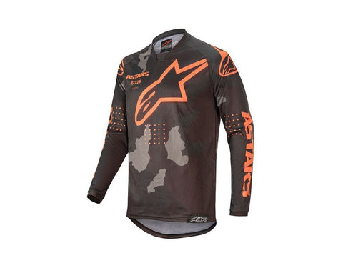 Alpinestars Racer Tactical Jersey Black/Grey Camo/Orange