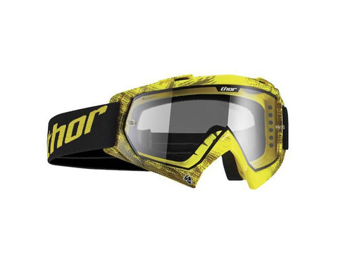 Thor S14 Enemy Goggles - Tread Yellow