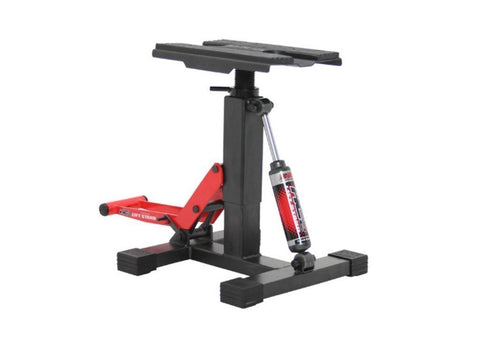 Dirt Freak HC-2 Height Control Red Damper Lift Stand