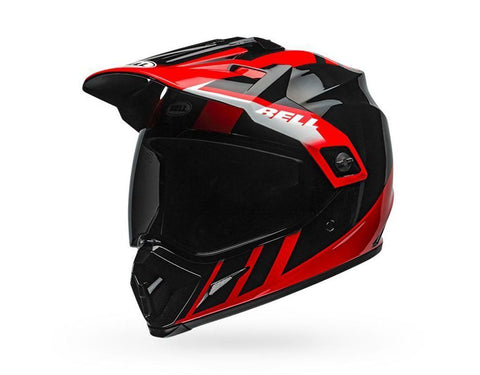 Bell MX-9 Adventure MIPS Dash Gloss - Black/Red/White