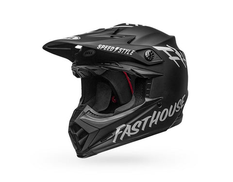 Bell Moto-9 Mips Youth Fasthouse - Black / White