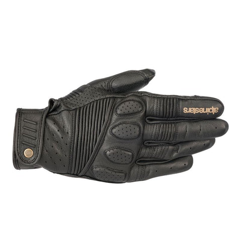 Alpinestars Crazy Eight Leather Gloves BLK
