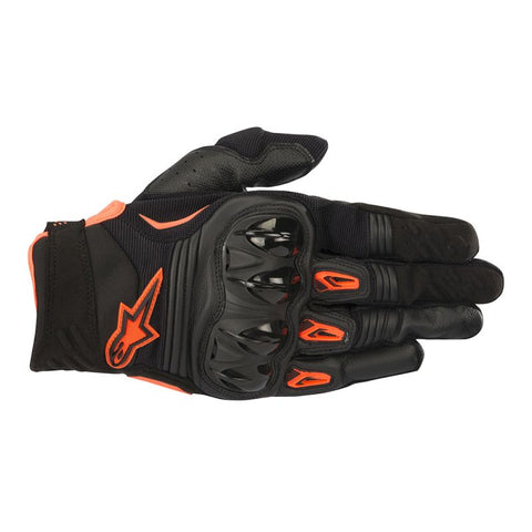 Alpinestars Megawatt Hard Knuckle Gloves BLK/ORG