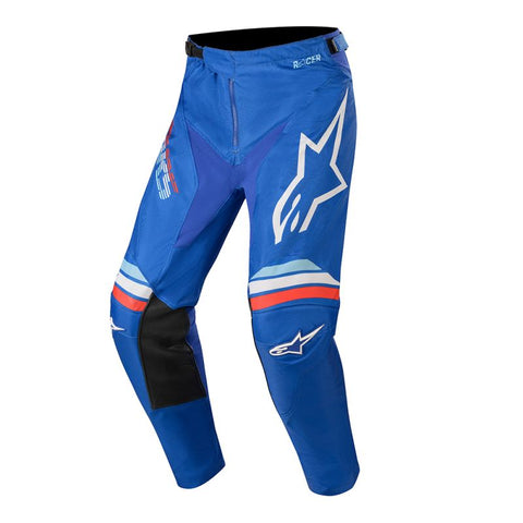 Alpinestars Racer Braap 20 MX Pants BLU/WHT