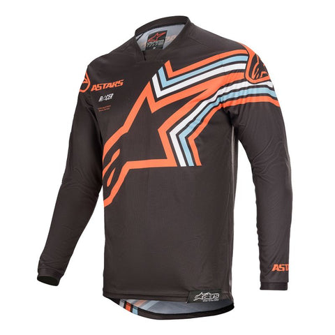 Alpinestars Racer Braap 20 MX Jersey - Grey/Orange