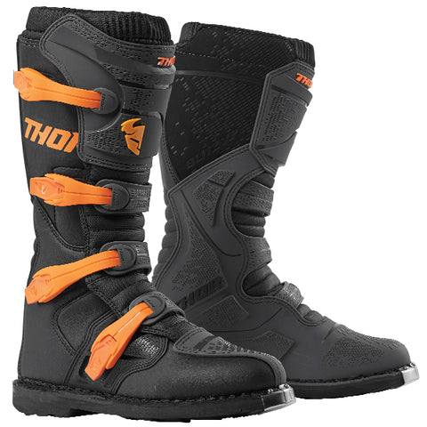 Thor Blitz XP 2020 Boots - Charcoal/Orange
