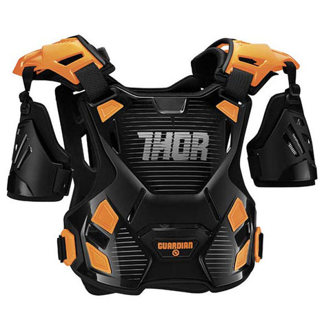Thor Guardian Youth Chest Protector 2017 - Black/Orange