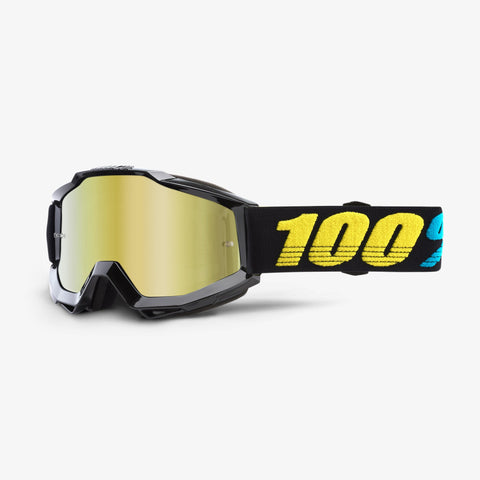 100% Accuri Youth Virgo Goggles - Gold Mirror Lens