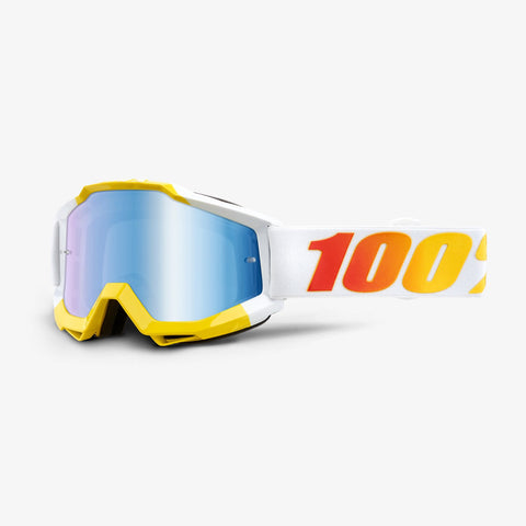 100% Accuri Goggle Astra Blue Mirror