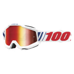100% Accuri AF066 Goggles - Red Mirror Lens