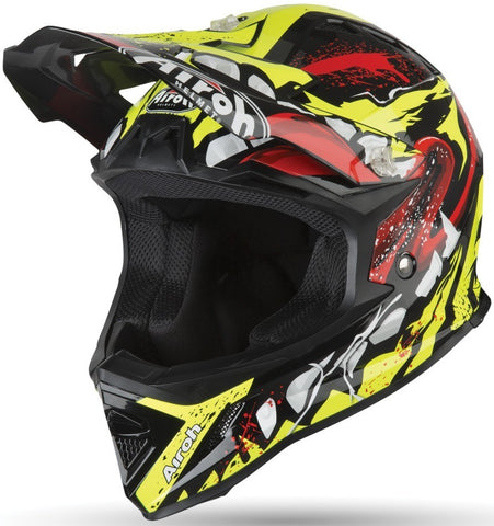Airoh Archer Grim Gloss Youth Helmet