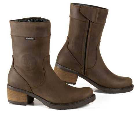 FALCO LADIES BOOTS BROWN