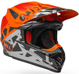 Bell Moto-9 MIPS Tremor M/G - Black/Orange