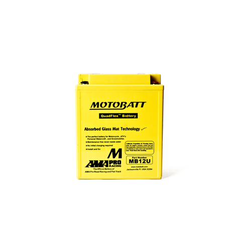 MOTOBATT MB12U 12N12A YB12A/LA2 BATTERY