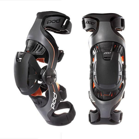 POD K1 Youth Knee Brace - Grey/Orange