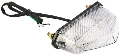 INTEGRATED LED CLEAR TRIANGLE TAIL LIGHT 61MM