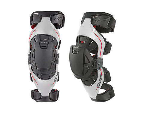 POD K4 Knee Brace - Grey/Red