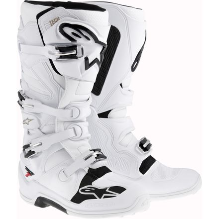 Alpinestars Tech 7 Boots - White