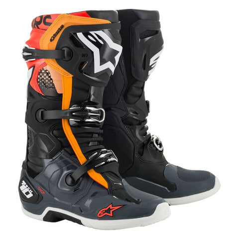 Alpinestars Tech 10 Boots BLK/GRY/RED/ORG