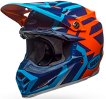 Bell Moto-9 MIPS District - Blue/Orange