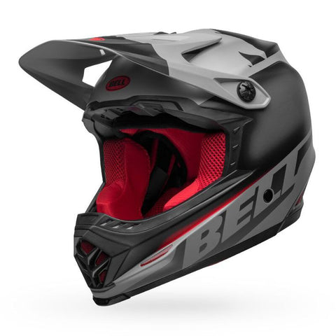 Bell Moto-9 Mips Youth Glory - Black/Grey/Red
