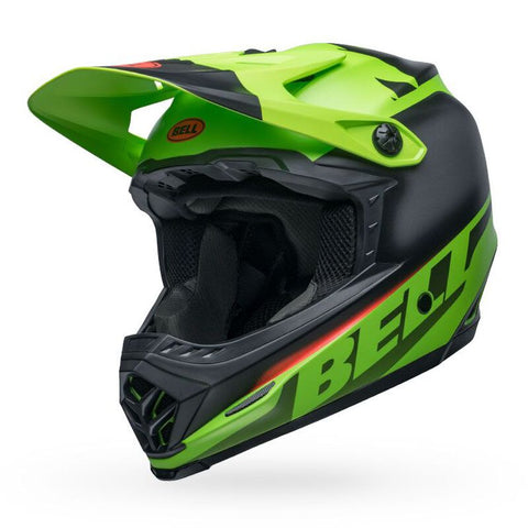 Bell Moto-9 Mips Youth Glory - Green/Black/Red