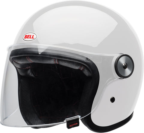 Bell Riot Solid Gloss - White