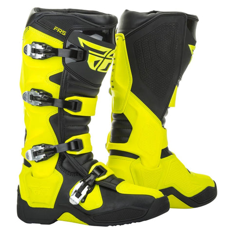 Fly Racing FR5 Boots - Hi-Vis Yellow