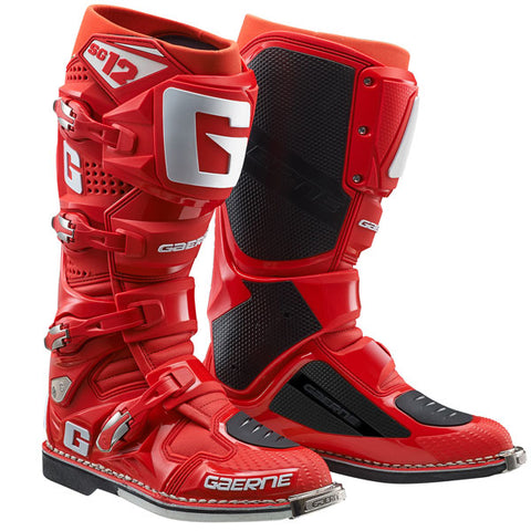 Gaerne SG-12 MX Boots - Red