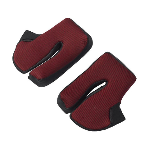 SHARK RACE R/RACE R PRO CHEEK PADS (BAMBOO RED)