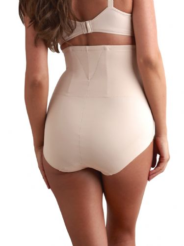 Hi Waist Back Magic Brief - Nude