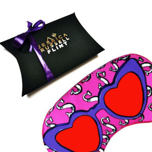"Silk Eye Mask ""S for Sunglasses"""